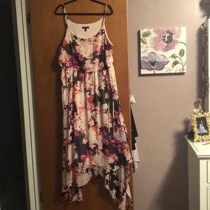 Beautiful lane Bryant flower dress